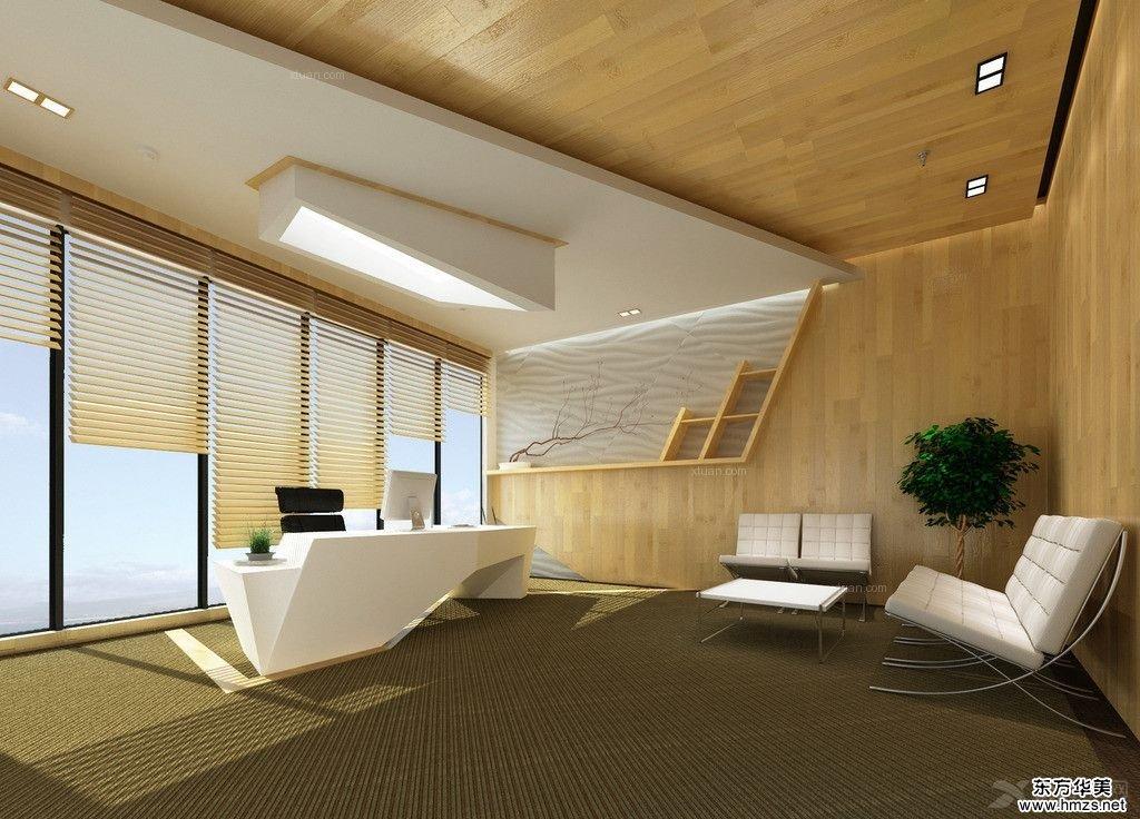 办公室装修设计之办公区域的划分